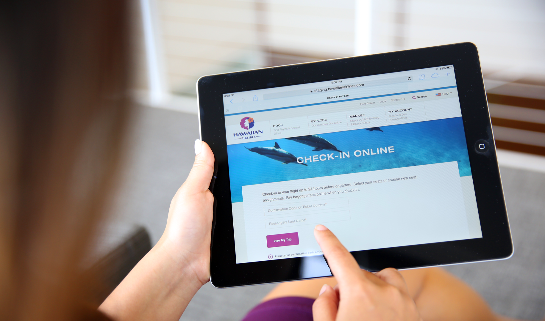 Web Check-In | Hawaiian Airlines