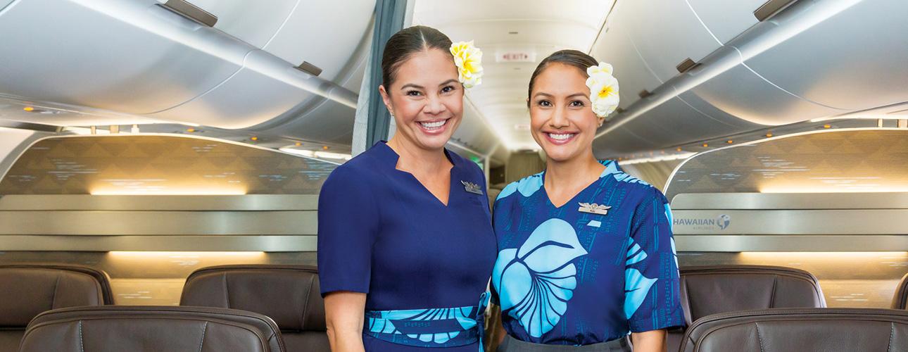 At The Airport Hawaiian Airlines